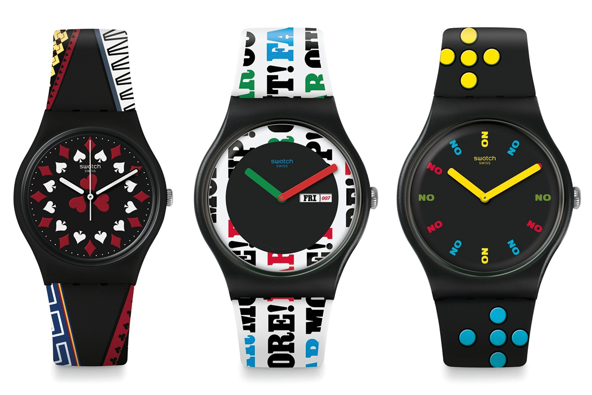 James Bond: the Swatch collection