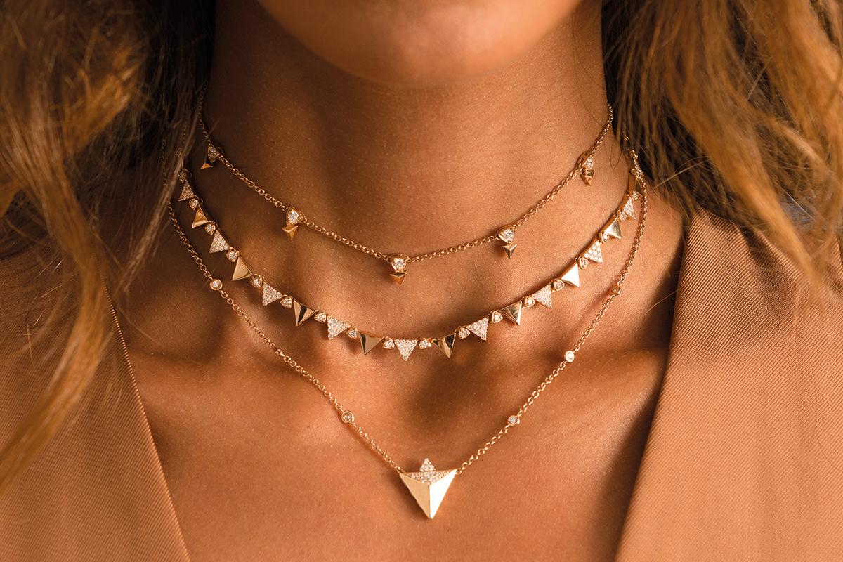 Alessa Jewelry gives shape to natural elements