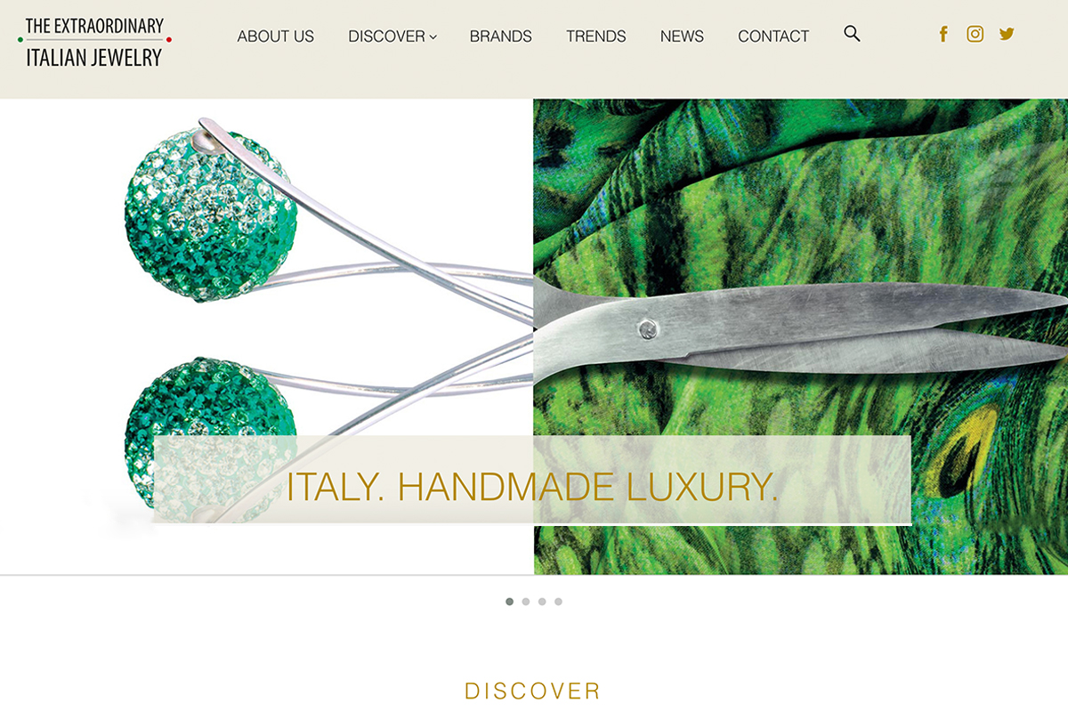Agenzia ICE lancia The Extraordinary Italian Jewelry