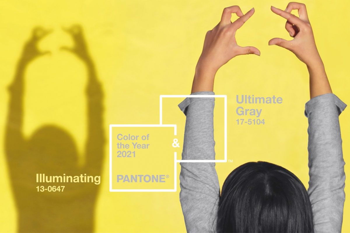 Pantone 2021: between yellow and gray for a full year of hope
