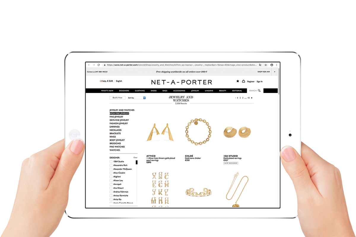 Which are the best jewellery websites?