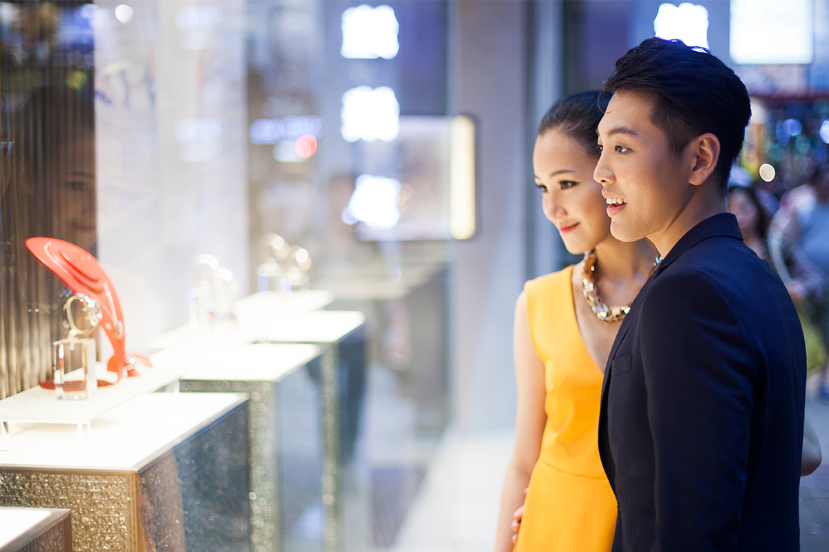 Chinese consumers dominate the luxury market