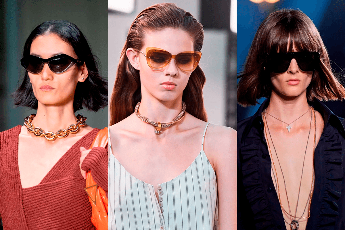 Summer 2020: the triumph of necklaces